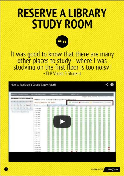 study room infographic